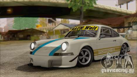 Porsche 911 Carrera 1973 Tunable KIT C для GTA San Andreas вид сзади