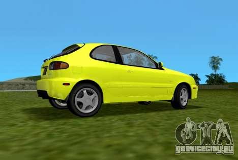 Daewoo Lanos Sport 2001 г. США для GTA Vice City вид слева