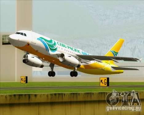 Airbus A319-100 Cebu Pacific Air для GTA San Andreas