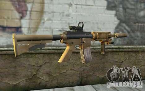 M4A1 Sopmod для GTA San Andreas второй скриншот