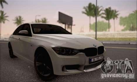 BMW F30 320d для GTA San Andreas