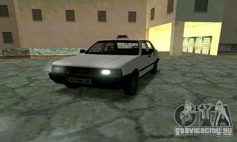 Tofas Sahin Taxi для GTA San Andreas вид сзади