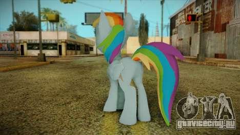 Rainbow Dash from My Little Pony для GTA San Andreas второй скриншот