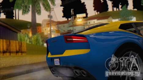 GTA 5 Lampadati Furore GT (IVF) для GTA San Andreas вид справа