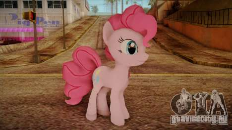 Pinkie Pie from My Little Pony для GTA San Andreas