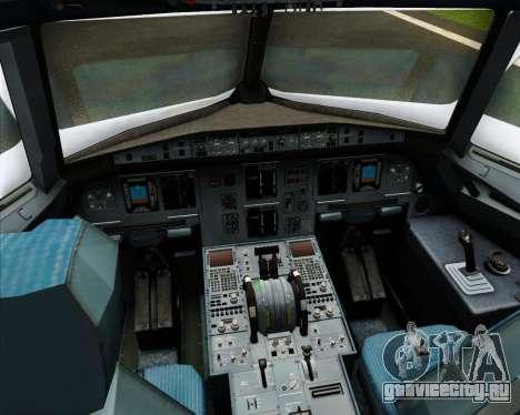 Airbus A320-200 Cebu Pacific Air для GTA San Andreas салон