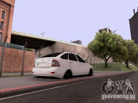 ВАЗ 2172 для GTA San Andreas вид сбоку