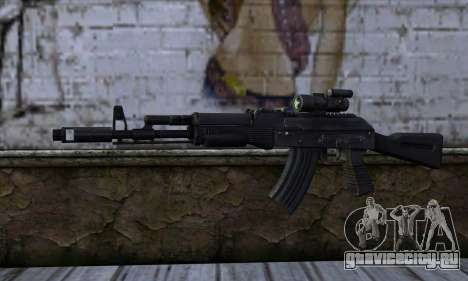 AK-103 Ravaged для GTA San Andreas