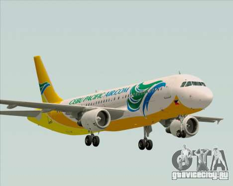 Airbus A320-200 Cebu Pacific Air для GTA San Andreas