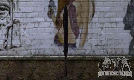 Unnamed Sword для GTA San Andreas второй скриншот