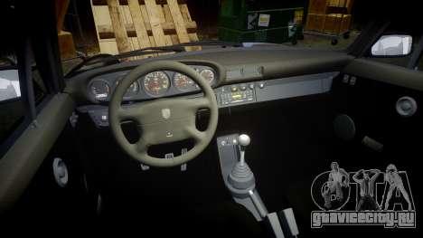 Porsche 911 (964) Coupe Razval для GTA 4 вид изнутри