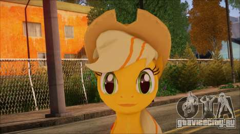 Applejack from My Little Pony для GTA San Andreas третий скриншот