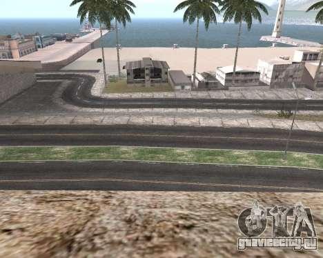 Текстуры Los Santos из GTA 5 для GTA San Andreas восьмой скриншот