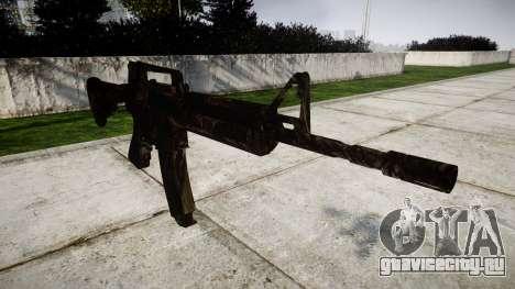 Карабин M4 CQB для GTA 4