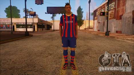 Neymar Skin для GTA San Andreas