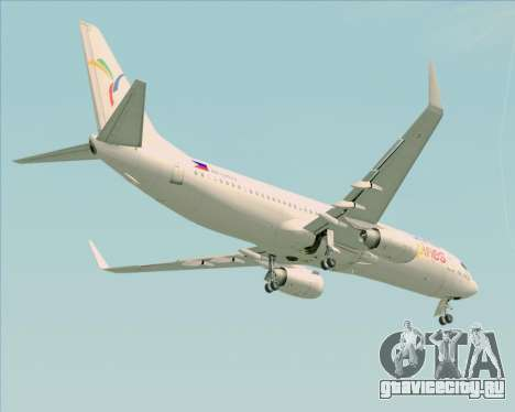 Boeing 737-800 South East Asian Airlines (SEAIR) для GTA San Andreas вид сбоку