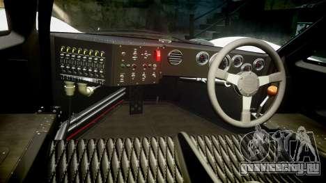 Ford GT40 Mark IV 1967 PJ Oilzanol 38 для GTA 4 вид сзади