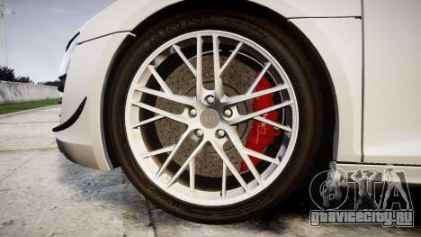 Audi R8 LMX 2015 [EPM] v1.3 для GTA 4 вид сзади