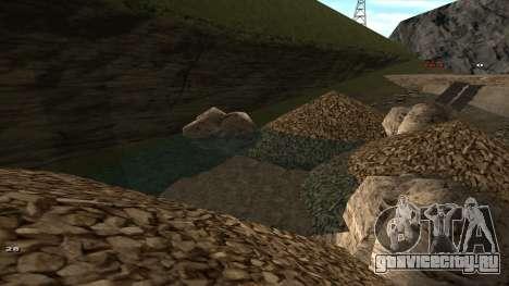 Трасса Offroad v1.1 by Rappar313 для GTA San Andreas восьмой скриншот