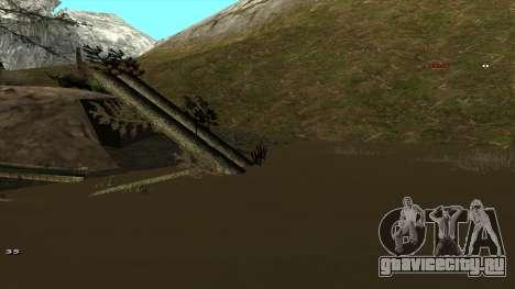 Трасса Offroad v1.1 by Rappar313 для GTA San Andreas одинадцатый скриншот
