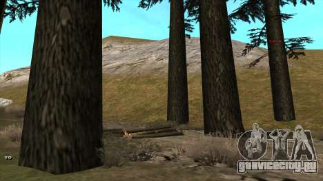 Трасса Offroad v1.1 by Rappar313 для GTA San Andreas третий скриншот