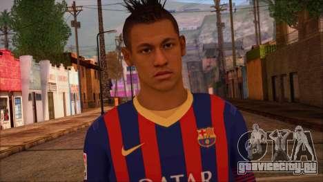 Neymar Skin для GTA San Andreas третий скриншот