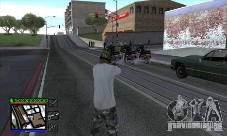 C-HUD by Niko для GTA San Andreas