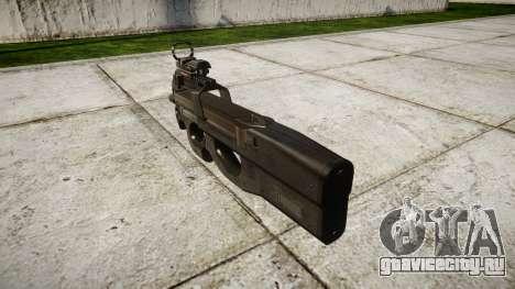 Бельгийский пистолет-пулемёт FN P90 target для GTA 4 второй скриншот
