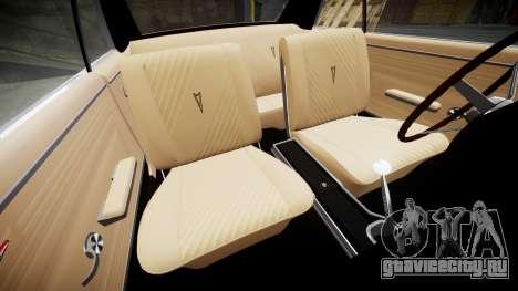 Pontiac GTO 1965 для GTA 4 вид сбоку