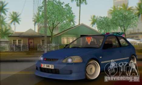 Honda Civic V Type EMR Edition для GTA San Andreas