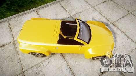 Chevrolet SSR для GTA 4 вид справа