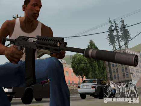 Heavy Shotgun GTA 5 (1.17 update) для GTA San Andreas