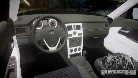 ВАЗ-2170 Lada Priora stock для GTA 4 вид изнутри