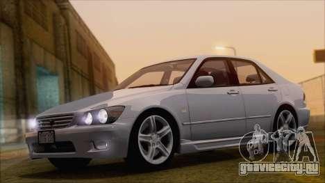 Toyota Altezza (RS200) 2004 (HQLM) для GTA San Andreas