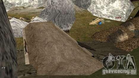 Трасса Offroad v1.1 by Rappar313 для GTA San Andreas девятый скриншот