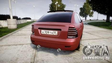 ВАЗ-2172 Dag style для GTA 4 вид сзади слева