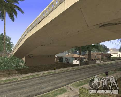 Текстуры Los Santos из GTA 5 для GTA San Andreas третий скриншот