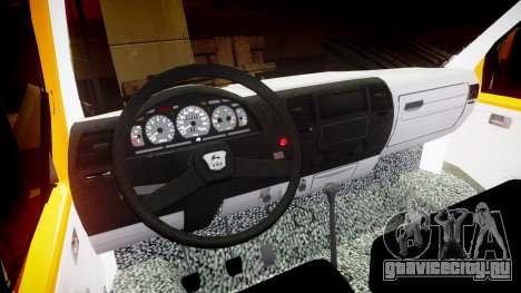 ГАЗ-3221 Газель для GTA 4 вид изнутри