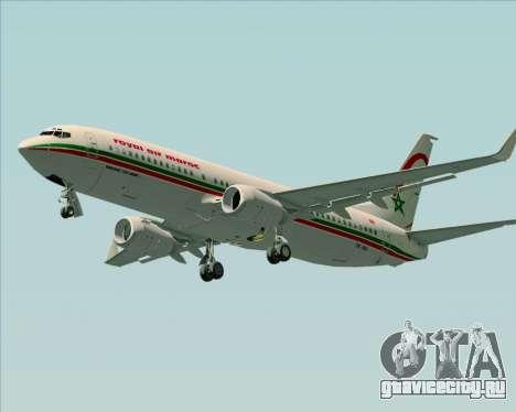 Boeing 737-8B6 Royal Air Maroc (RAM) для GTA San Andreas вид слева