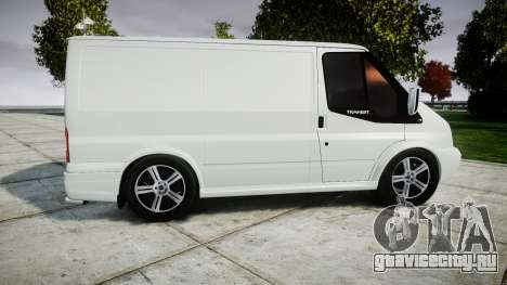 Ford Transit 2011 SuperSportVan для GTA 4 вид слева