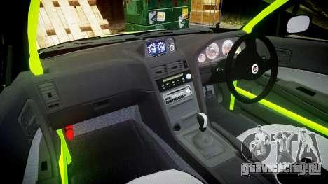 Nissan Skyline R34 GT-R V-Spec [RIV] для GTA 4 вид сзади