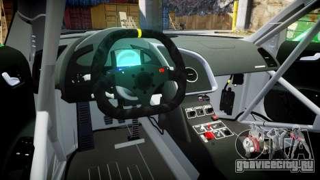 Audi R8 LMS Sharpie для GTA 4 вид сзади