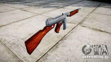 Пистолет-пулемёт Thompson M1A1 box icon1 для GTA 4 второй скриншот