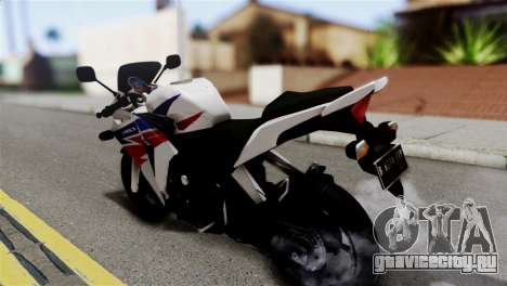 Honda CBR150FI для GTA San Andreas вид слева