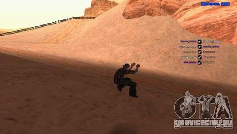 ped.ifp by Pavel_Grand для GTA San Andreas второй скриншот