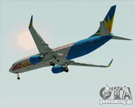 Boeing 737-800 Jet2Holidays для GTA San Andreas