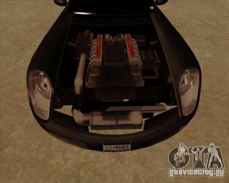 Stinger для GTA San Andreas вид изнутри