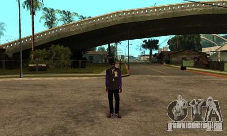 The Ballas Skin Pack для GTA San Andreas третий скриншот