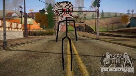 Skin de Meme Troll Golpiado для GTA San Andreas