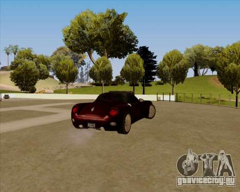 Stinger для GTA San Andreas вид слева
